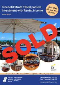 Airlie Beach Freehold Strata Title passive investment with rental income Sold