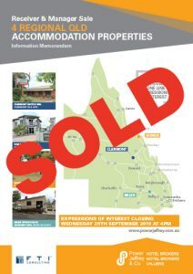 Clermont Miles and Bowen Motor Inn Caravan Park and Motel Sold