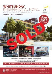 Whitsunday International Hotel Mackay Sold
