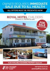 Royal Hotel For Sale Childers