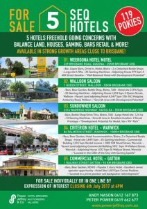 5 South East Qld Hotels
