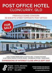 Post Office Hotel Cloncurry