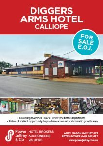 Diggers Arms – Calliope