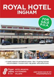 Royal Hotel For Sale Ingham
