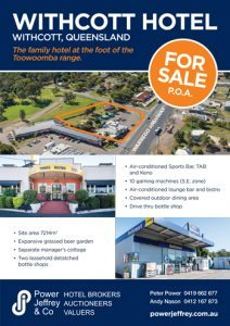 Withcott Hotel For Sale Toowoomba