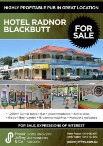 Hotel Radnor For Sale Blackbutt