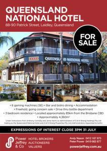 Queensland National Hotel For Sale Laidley
