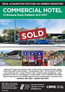 Commercial Hotel Redbank For Sale