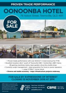 Oonoonba Hotel Townsville for Sale