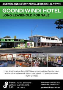 Queensland Hotel For Sale Goondiwindi