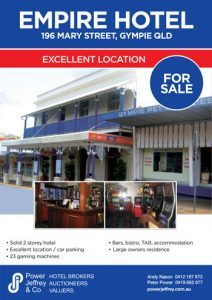 Empire Hotel Gympie For Sale