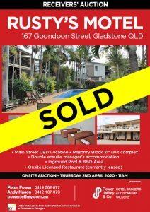 Econolodge Rusty's Motel Gladstone For Sale