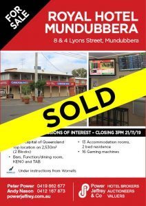Royal Hotel Mundubbera For Sale