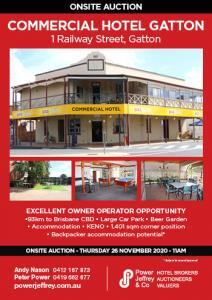 Commercial Hotel Gatton For Sale