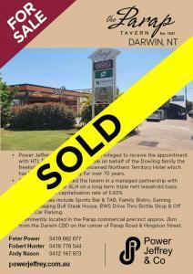 Parap Tavern Darwin Sold