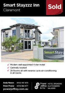 Sold – Smart Stayzzz Inn Claremont